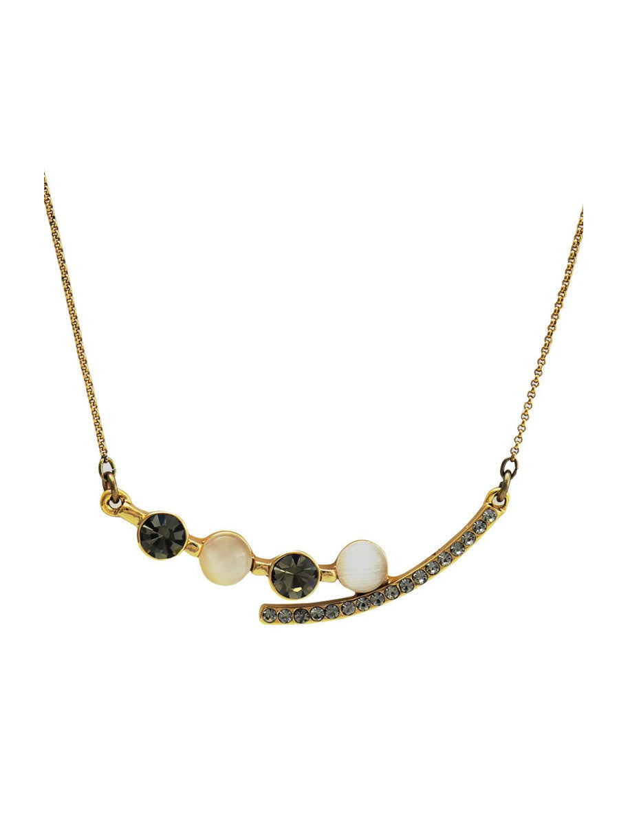 Mia Curved Necklace
