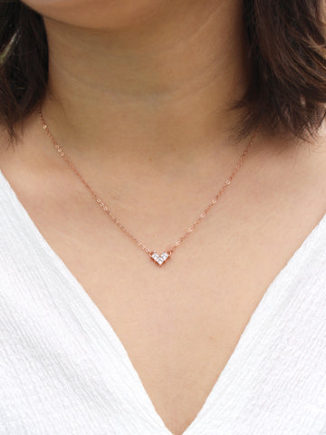 Beloved Heart Necklace