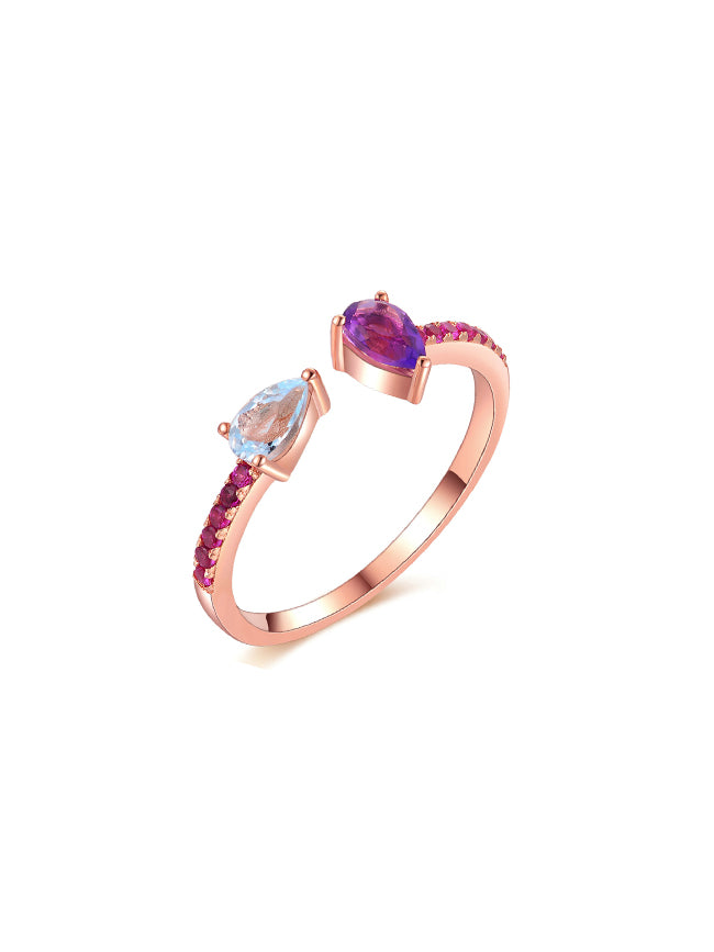 Twilight Rose Gold Ring