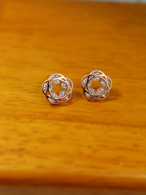 Web of Studs Earrings