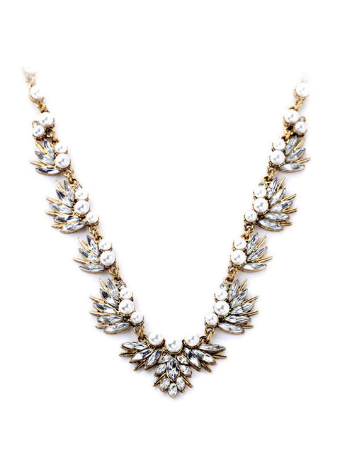 Alexandria Pearl Statement Necklace