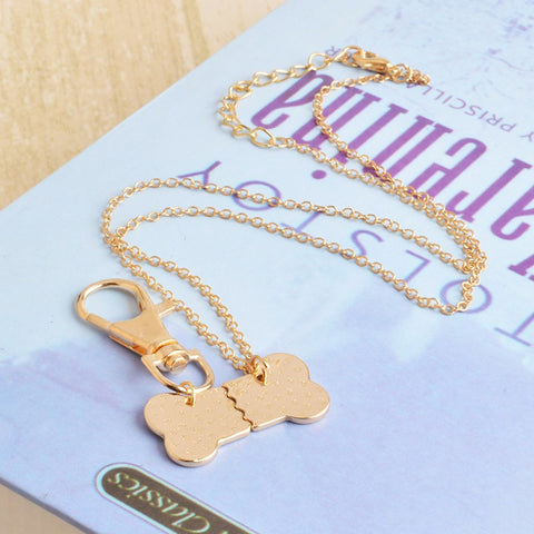 Best Friends Necklace & Charm Set