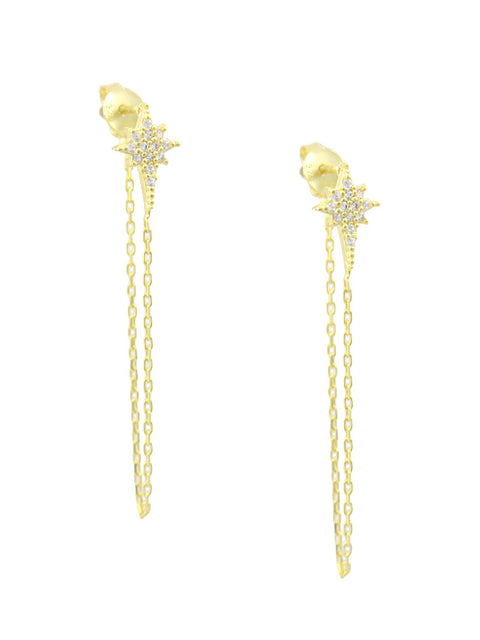 Starlight Chain Earring