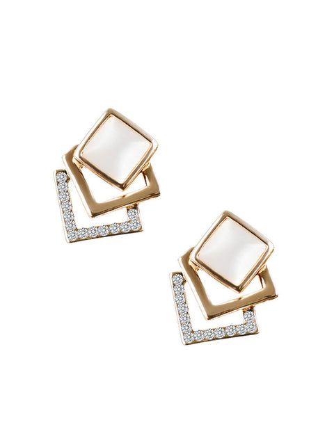 Maya Square Earrings