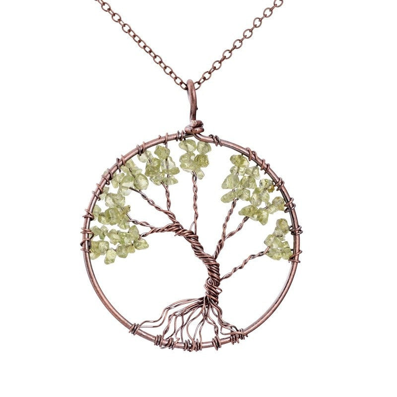 Handmade Tree Of Life Necklace Seek For Chic
