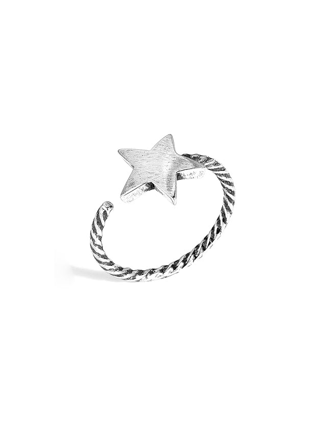 Handmade Star Open Ring