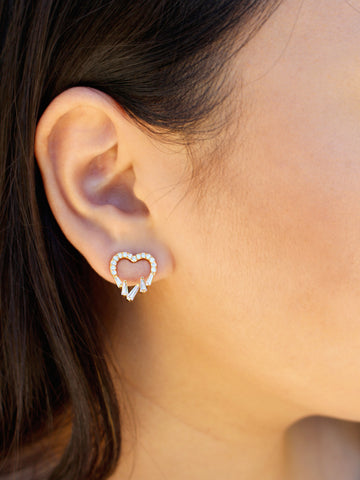 Tempest Heart Earrings