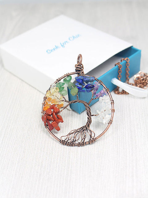 Handmade Tree of Life Necklace