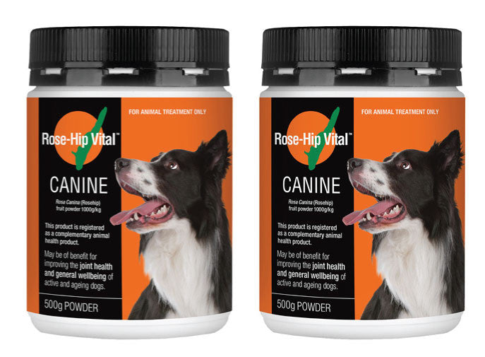 Rose-Hip Vital Canine 500g - Buy One Get ONE FREE