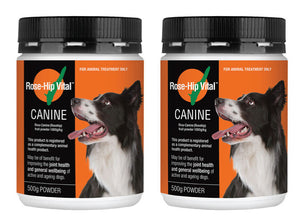 Rose-Hip Vital Canine 500g - 2 Pack