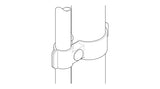 TC DF GH - Standard Gate Hinge TubeClamp Fitting by Solid Dynamics Australia