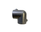 TC Aluminium 125 - Standard (90deg) Elbow Pipe Fitting TubeClamp Fitting by Solid Dynamics Australia