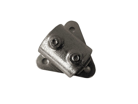 TC Aluminium 146 - Side Palm Flange Pipe Fitting TubeClamp Fitting by Solid Dynamics Australia
