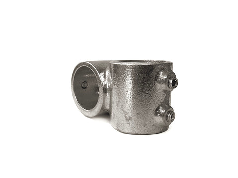 TC Aluminium 161 - Crossover Pipe Fitting TubeClamp Fitting by Solid Dynamics Australia
