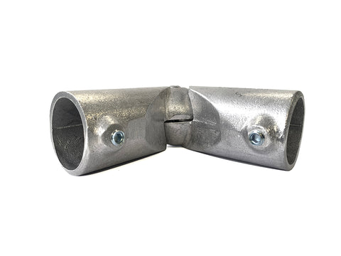 TC Aluminium 166 - Variable Swivel Elbow Pipe Fitting TubeClamp Fitting by Solid Dynamics Australia