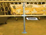TC 48220 - Mobility off set single handrail stanchion with mid rail TubeClamp Fitting by Solid Dynamics Australia
