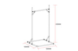 TC Fitness 8102 Pull Up - Free Standing Cross Fit Training Aaron - 110kg rated TubeClamp Fitting by Solid Dynamics Australia