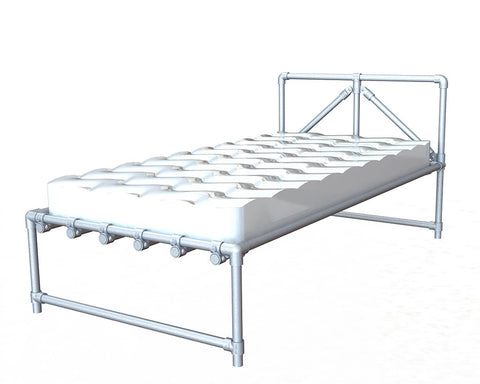 "TC Bed 972 - King Single Bed ""Mitch"" TubeClamp Fitting by Solid Dynamics Australia"