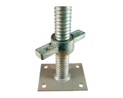 TC SP JACK - Scaffold Jack - Galvanised TubeClamp Fitting by Solid Dynamics Australia