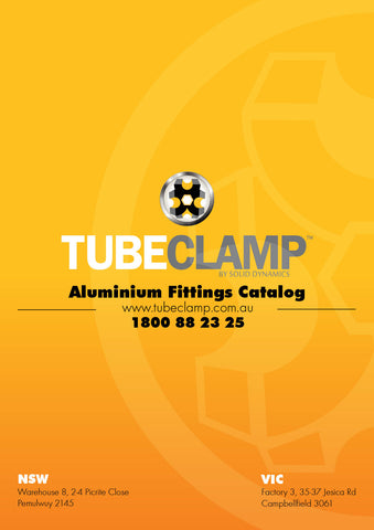 TC Aluminium Fittings Catalog TubeClamp Fitting by Solid Dynamics Australia