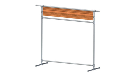 "TC 903.1 ""JeansDay"" Clothes Rack 1.9m high 1.5m long TubeClamp Fitting by Solid Dynamics Australia"