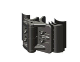 TC 471 - Railing Double Gate TubeClamp Fitting by Solid Dynamics Australia