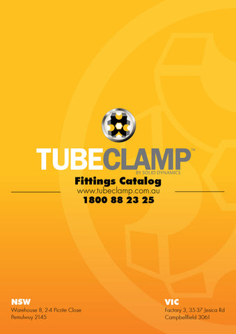 TC Galvanised Fittings Catalog TubeClamp Fitting by Solid Dynamics Australia