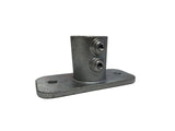 TC 252 - Base Flange for C42 0-4 degree Slop TubeClamp Fitting by Solid Dynamics Australia