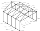 "TC K 521 - Freestanding Outdoor Shelter ""Greenhouse"" (Frame Only) TubeClamp Fitting by Solid Dynamics Australia"