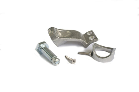 TC KL L160 Smooth Handrail Fitting Tubeclamp Maleable Cast