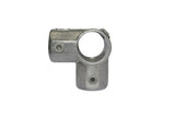 TC LC116D - Lite corner cross Tubeclamp Maleable Cast