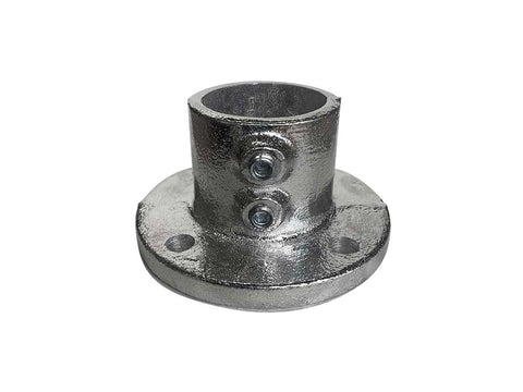 TC Aluminium 131 - Round Flange Pipe Fitting TubeClamp Fitting by Solid Dynamics Australia