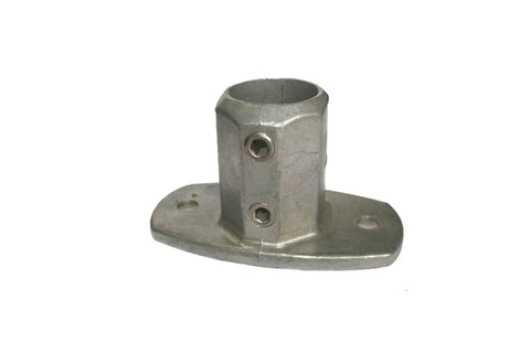 TC LC132 - Lite Base Flange TubeClamp Fitting by Solid Dynamics Australia