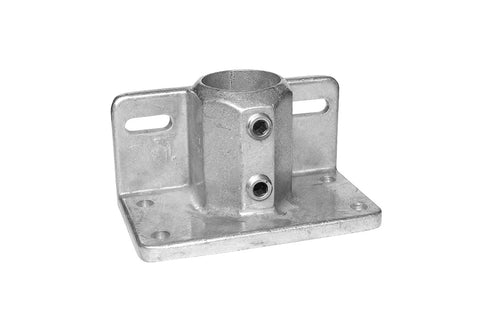 TC LC247 - Lite Base Flange Toeboard TubeClamp Fitting by Solid Dynamics Australia