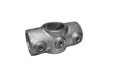 TC QC119 - Standard Cross TubeClamp Fitting by Solid Dynamics Australia