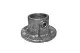TC QC131-4 - Wall Flange Tubeclamp Maleable Cast