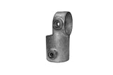 TC QC148-4 - Swivel Short Tee Tubeclamp Maleable Cast