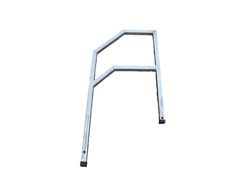 TC SP AC TR - Scaffold Aluminium Stair Top Rails 1.5m TubeClamp Fitting by Solid Dynamics Australia