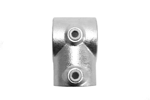 TC 101 - Short Tee (Single Socket Tee) Galvanized Pipe Fitting Tubeclamp Maleable Cast