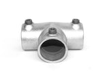 TC 104 - Long Tee (Three Socket Tee) Galvanized Pipe Fitting Tubeclamp Maleable Cast