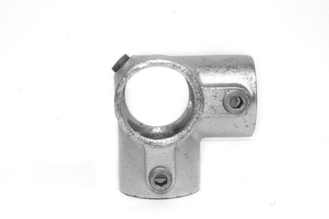 TC 116 - Corner Middle Cross Tubeclamp Maleable Cast