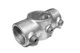 TC 119 - Standard Cross Tee TubeClamp Fitting by Solid Dynamics Australia