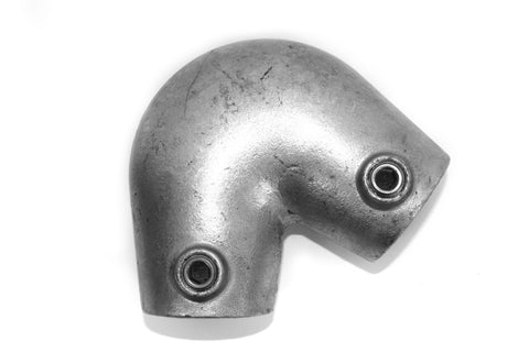 Tube Clamp 123 - Variable Acute Angle Elbow Galvanized Pipe Fitting