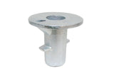 134 - Ground Socket Galvanized Pipe Fitting
