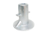 TC 134 - Ground Socket Galvanized Pipe Fitting Tubeclamp Maleable Cast