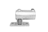 TC 144 - Side Vertical Flange TubeClamp Fitting by Solid Dynamics Australia