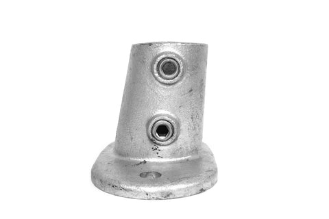 TC 152 - Slope Base Flange TubeClamp Fitting by Solid Dynamics Australia