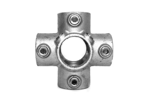 TC 158 - Centre Cross TubeClamp Fitting by Solid Dynamics Australia