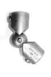 TC 166 - Variable Swivel Elbow Galvanized Pipe Fitting Tubeclamp Maleable Cast