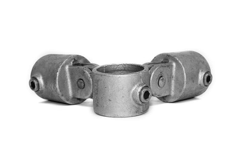 TC 168 - Corner Swivel Combine TubeClamp Fitting by Solid Dynamics Australia